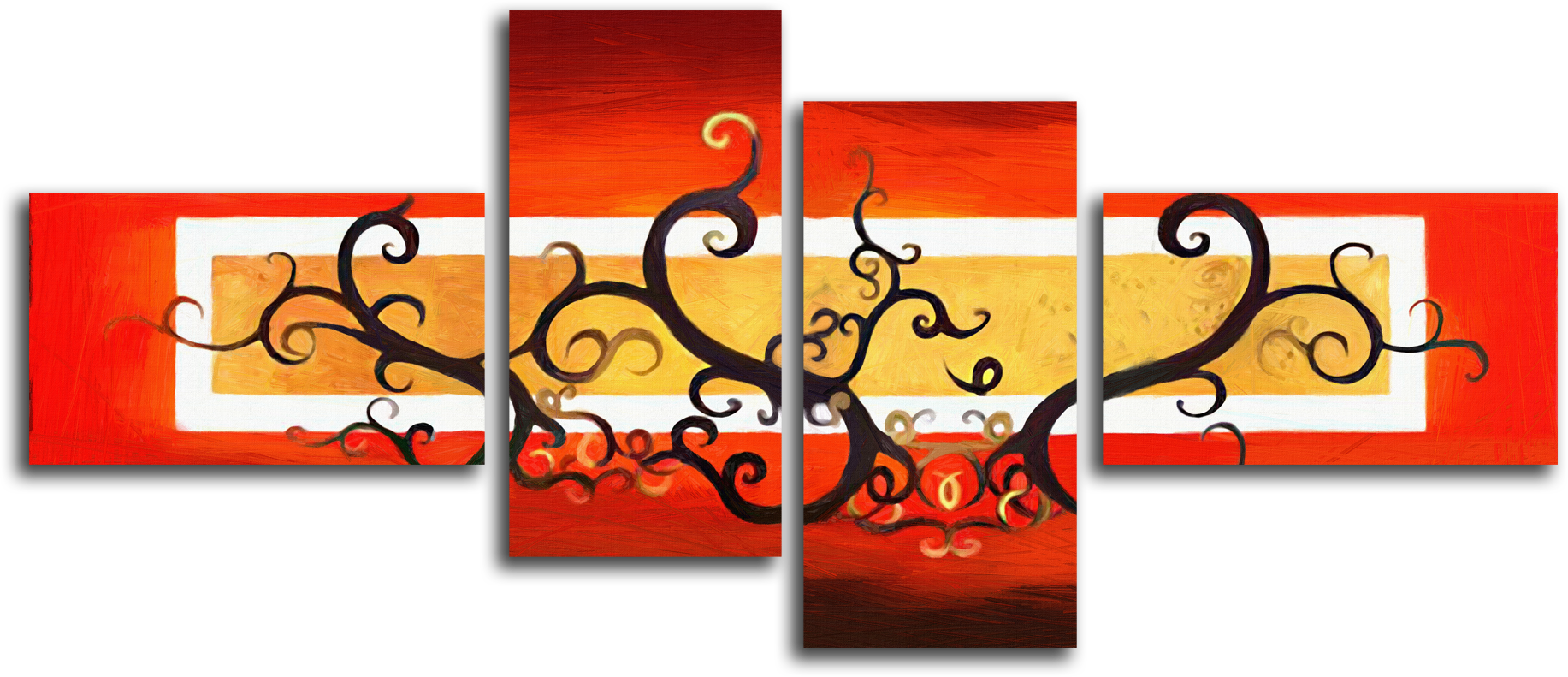 """Абстракция Модульная картина """"Ветви жизни"""" М380.png"""
