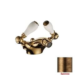 Смеситель для биде двухвентильный с донным клапаном Palazzani Porter color 55412050 фото