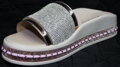 Шлепанцы женские кожаные Kluchini 5259T189 SR.