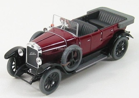 Laurin & Klement 110 Limousine 1927 purple red Abrex 1:43