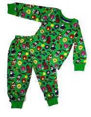 Пижама детская легкая Щенячий патруль зеленая