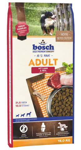 Bosch Adult Lamb&Rice 15 кг