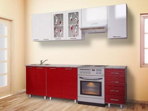 Кухня МАРТА 1,5 вертикальный шкаф
