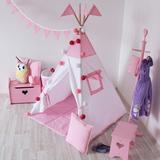 Вигвам Pink Tipi (детский игровой домик, палатка)