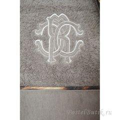Набор полотенец 3 шт Roberto Cavalli Basic серый