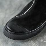 Ботинки с косой молнией «GIGEST» купить