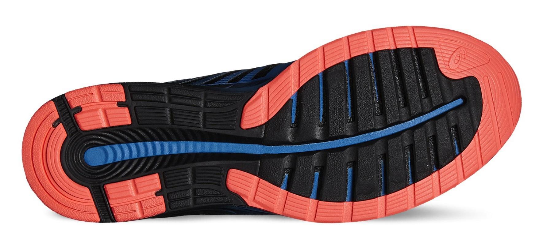 Мужские беговые кроссовки Asics FuzeX (T639N 4201) голубые фото