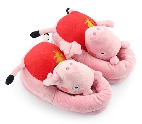 Slippers Plush Peppa Pig Peppa