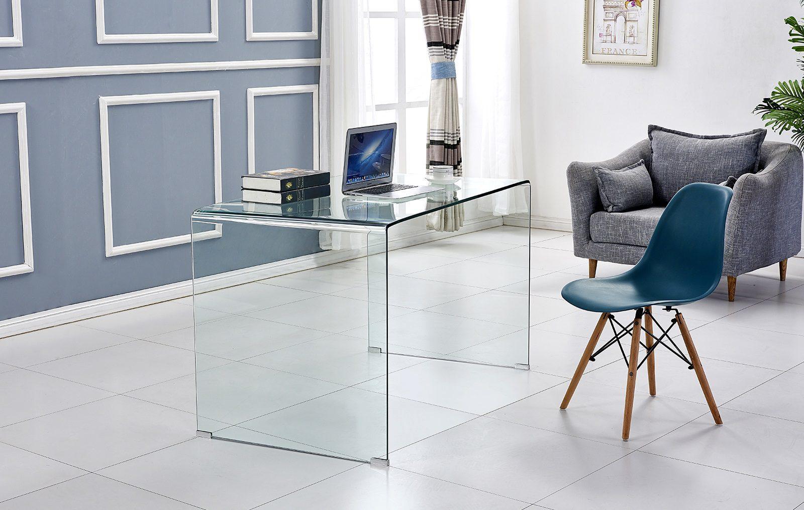 Прозрачный письменный стол ESF F306