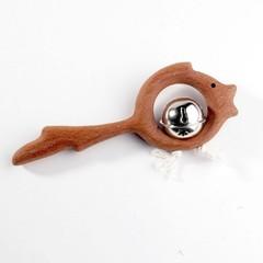Погремушка с бубенцом Леснушки Золотая рыбка