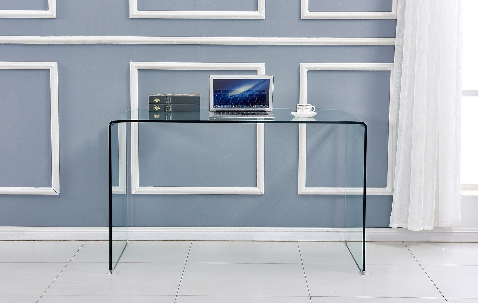 Стеклянный письменный стол ESF F306