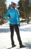 Элитный утеплённый лыжный костюм Nordski Elite G-TX Blue/Black женский