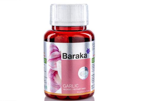 Масло чеснока и черного тмина в капсулах Барака - Гарликол (Baraka)