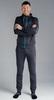 Костюм спортивный Nordski Zip Hood Cuffed Gray 2019 мужской