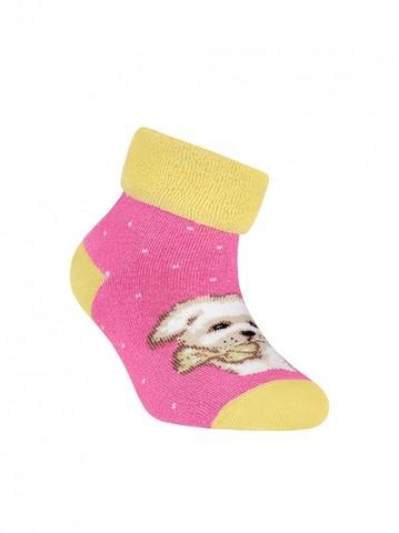 Детские носки Sof-Tiki 6С-19СП (махровые с отворотом) рис. 221 Conte Kids