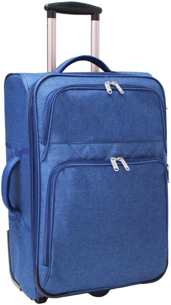 Дорожные чемоданы Чемодан Bagland Леон средний 51 л. Синий (003766924) b098d9ee4ca92aa57f369822eef240eb.JPG