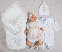 Набор на выписку для новорожденных летом Ника-2