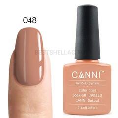 Canni, Гель-лак № 048, 7,3 мл