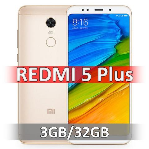 Xiaomi Redmi 5 Plus (3-32Gb) Gold