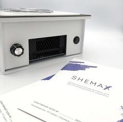 Врезная вытяжка для маникюра с фильтром SheMax, 66 ватт