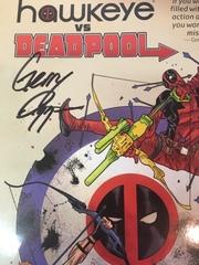 Hawkeye vs. Deadpool с автографом Джерри Даггана