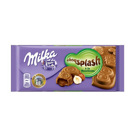 Milka ChoqSplash лесной орех