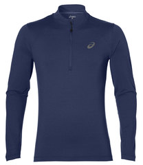 Мужская рубашка для бега Asics LS  Jersey 141202 8118 темно-синяя