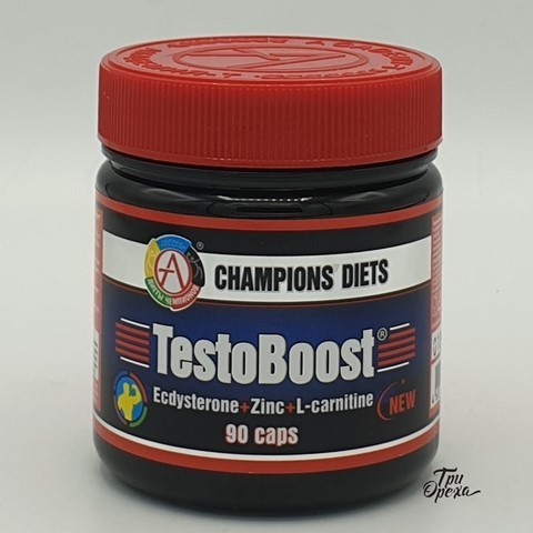Бустер тестостерона TestoBoost, Академия-Т, 90 капс
