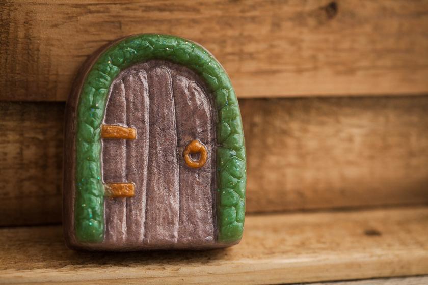 Форма для мыловарения Дверь. Готовое мыло