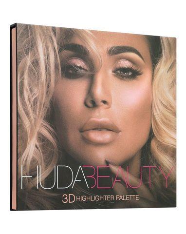 Палетка хайлайтеров  «3D Highlight Palette» HUDA BEAUTY