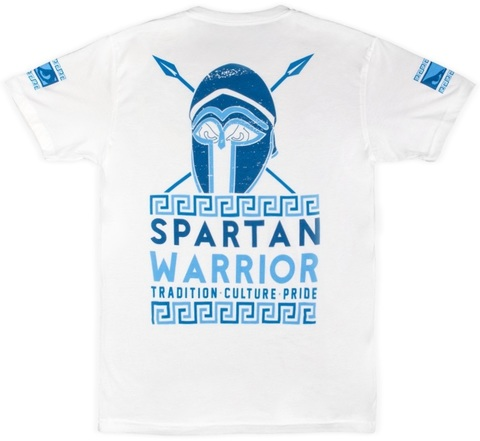 Футболка Bad Boy Spartan Warrior T-shirt - White