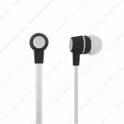 Наушники для MP3 проводные белый