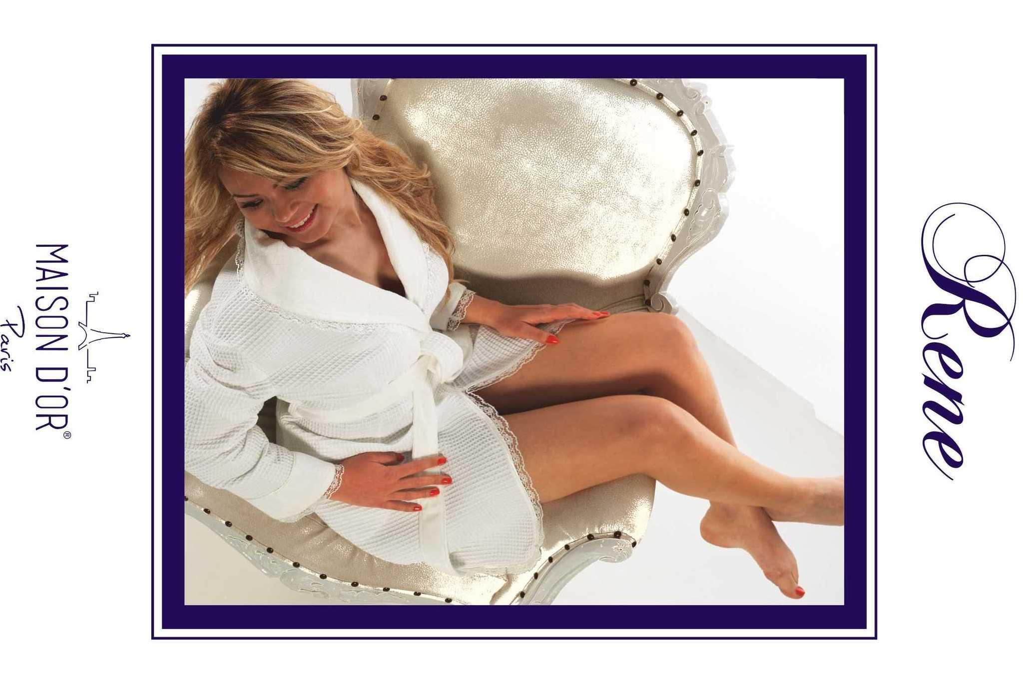 Легкие и вафельные халаты RENE - РЕНЕ женский вафельный халат Maison Dor Турция maison_rene.jpg