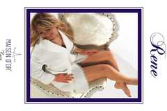 RENE - РЕНЕ женский вафельный халат Maison Dor Турция