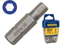 Отвёрточная бита  Нех 8  25мм 10шт  Irwin 10504350