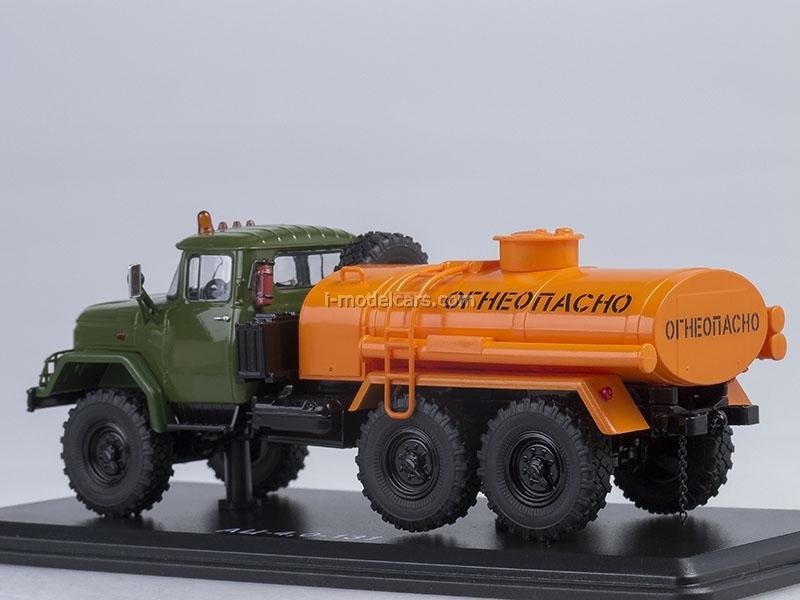 ZIL-131 AC-40 khaki-orange 1:43 Start Scale Models (SSM)