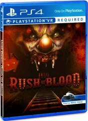 PS4 Until Dawn: Rush Of Blood (только для VR, русская версия)
