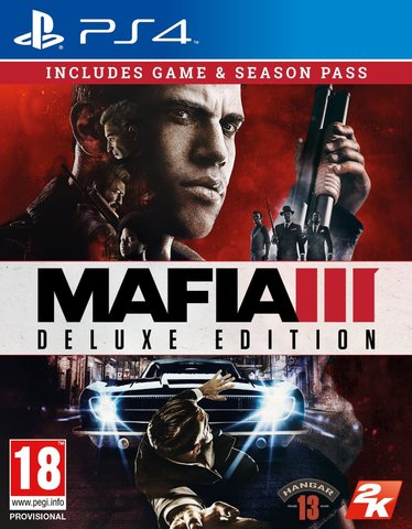 Sony PS4 Mafia III - Deluxe Edition (русские субтитры)