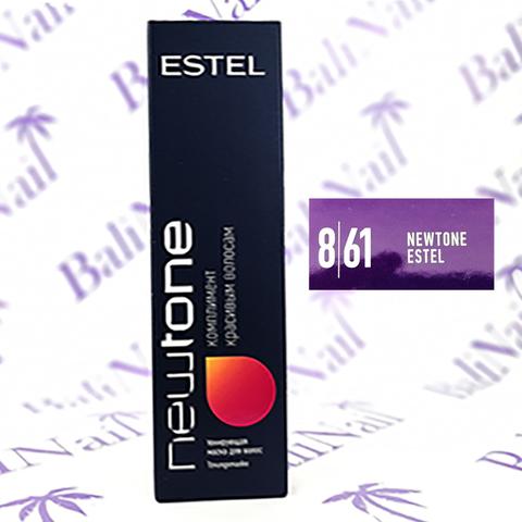 Тонирующая маска для волос NEWTONE ESTEL 8/61 Светло-русый фиолетово-пепельный (60 мл)