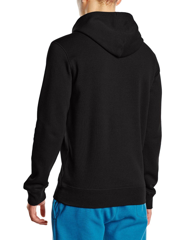 Мужская толстовка асикс Graphic Hoodie(125093 0904) черная