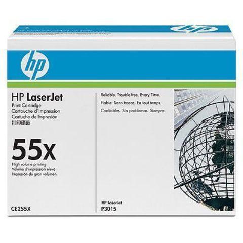 Картридж HP CE255X для Hewlett Packard LaserJet Enterprise P3015d, P3015dn, P3015x. (ресурс 12500 страниц)