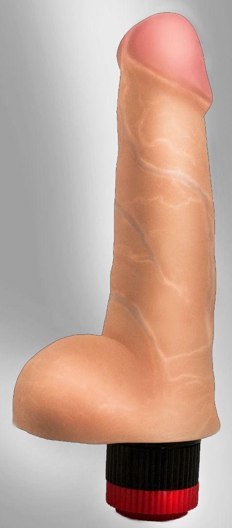 Реалистики: Реалистичный вибромассажёр COCK NEXT 6,6 - 17 см.