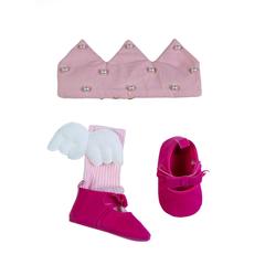 Яркие тапочки розового цвета