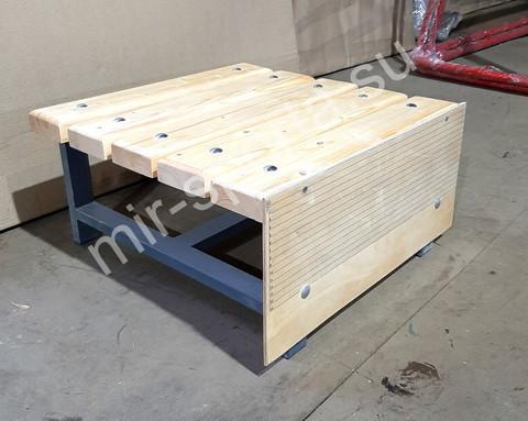 Тумба с разметкой для измерения гибкости для сдачи норматива (тестирования)