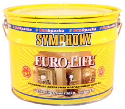 SYMPHONY EURO-LIFE - влагостойкая акрилатная латексная краска