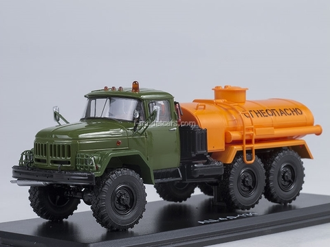 ZIL-131 AC-40 khaki-orange 1:43 Start Scale Models (SSM)