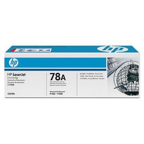 Картридж HP CE278A для принтера Hewlett Packard LaserJet Pro P1566, P1606dn. (ресурс 2100 страниц)