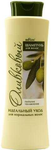 Шампунь для нормальных волос оливковый Питание & Увлажнение