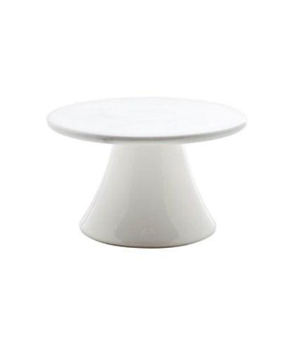 Тарелка на ножке 10,3 см Roomers Marble Grey