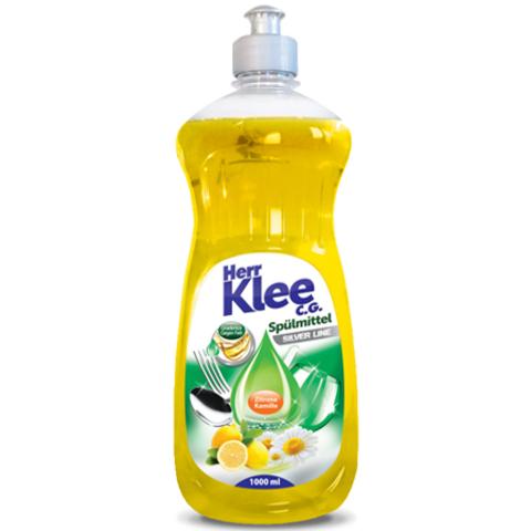 Herr Klee C.G. гель для мытья посуды Лимон и Ромашка 1 л.